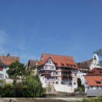 Blick auf Altstadt Donauinsel Riedlingen