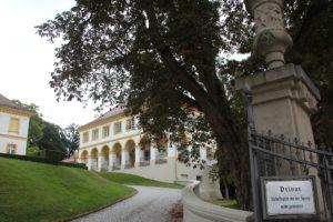 Seitengebaeude Schloss Wain