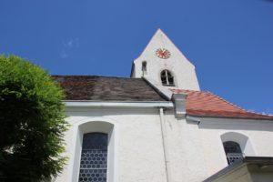 Apsis Langhaus Kirche Zussdorf