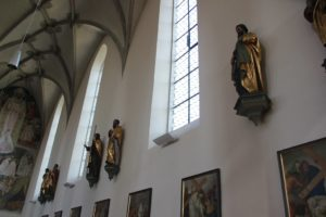 Barocke Figuren St Martin Leutkirch