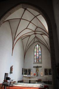 Deckengewoelbe St Georg Riedlingen