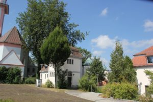 Gebauede Ensemble Schloss Grosslaupheim