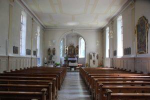 Innen St Simon u Judas Kirche Zussdorf