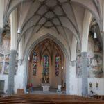 Innenraum St Martin Leutkirch