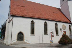 Langhaus Kirche Riedlingen