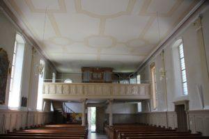 Orgel St Simon u Judas Kirche Zussdorf