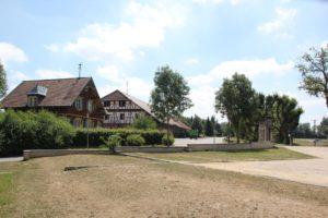 Schlossmauer Schloss Grosslaupheim