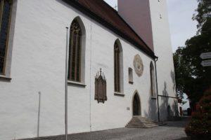 Sonnenuhr Kirche Riedlingen