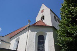 St Simon u Judas Kirche Zussdorf