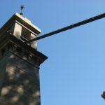 Stahlseil Halterung Kabelhaengebruecke Kressbronn-Langenargen