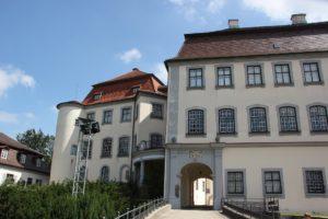 Tordurchgang Schloss Grosslaupheim