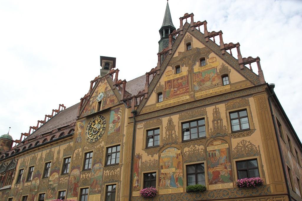 Uhrgiebel Rathaus Ulm