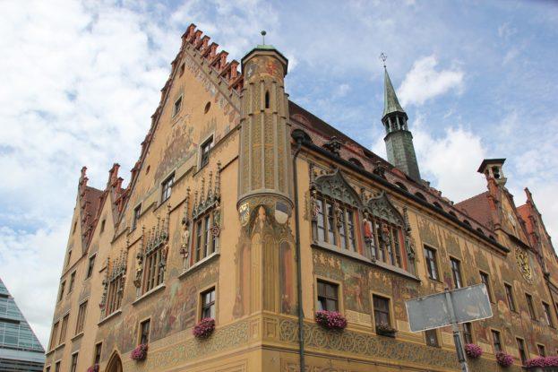 Verkuendungserker Rathaus Ulm