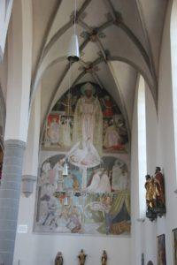 Wandmalerei St Martin Leutkirch