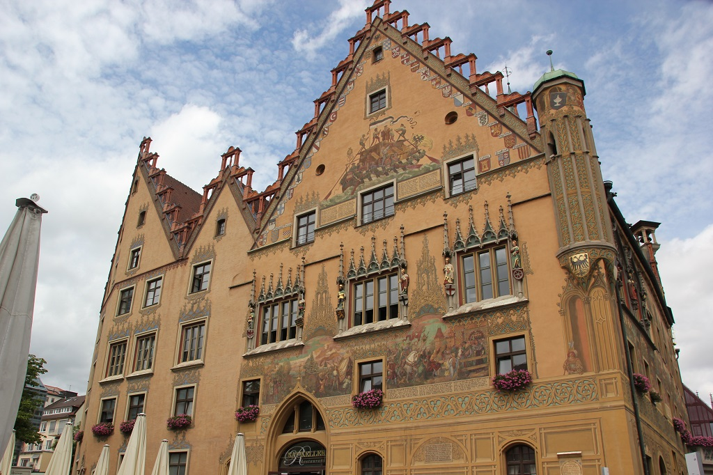 Wappen Karl iv Rathaus Ulm