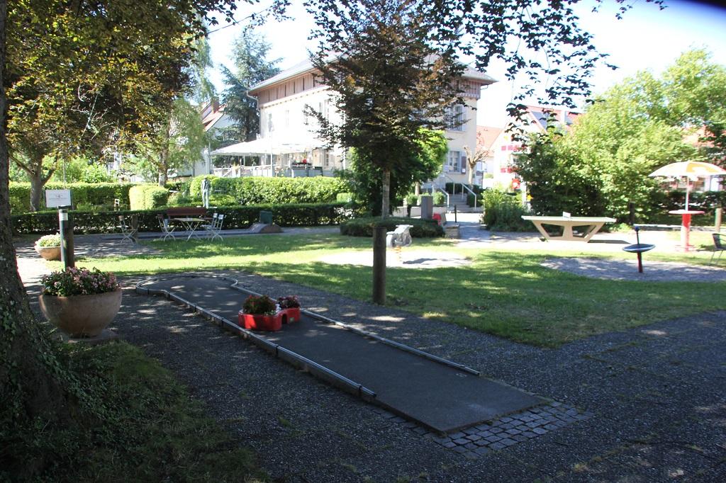 Minigolf Schlosspark Langenargen
