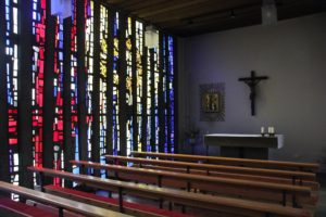 Moderne Kirche St Maria Meckenbeuren