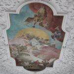 Stuck und Fresko St Baptist Haisterkirch