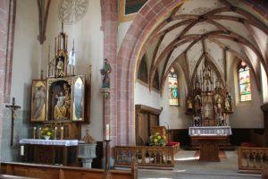 Apsis St Nikolaus Baltringen