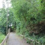 Aufgang zur Burg Burgweiler
