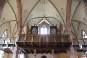 Orgel St Nikolaus Baltringen