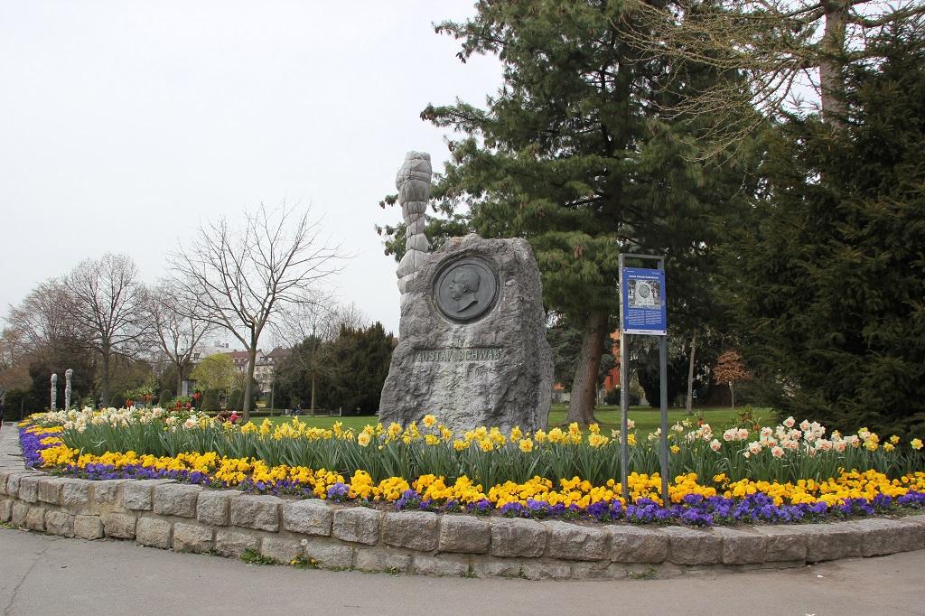 Denkmal Gustav Schwab Friedrichshafen