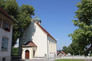 Eingang Kapelle Heggelbach