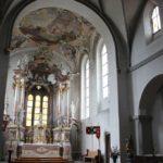 Barocke Apsis Kloster Baindt