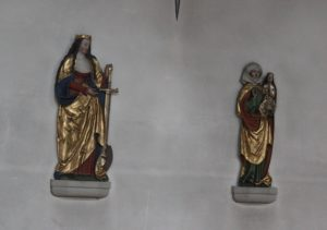 Barocke Figuren Kloster Baindt