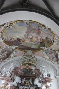 Barockes Deckenbild