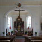 Innenraum St Michael Kirche Ebersbach