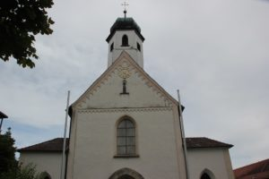 Kirchturm St Johannes Baptist Kloster Baindt