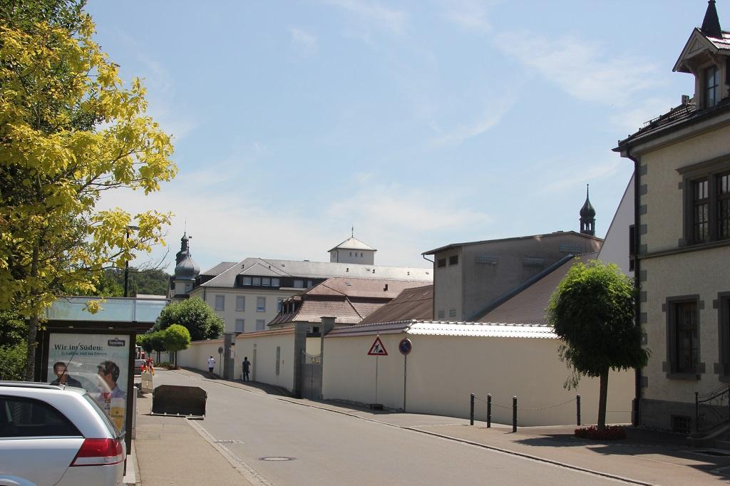 Kloster Hegne Mauer