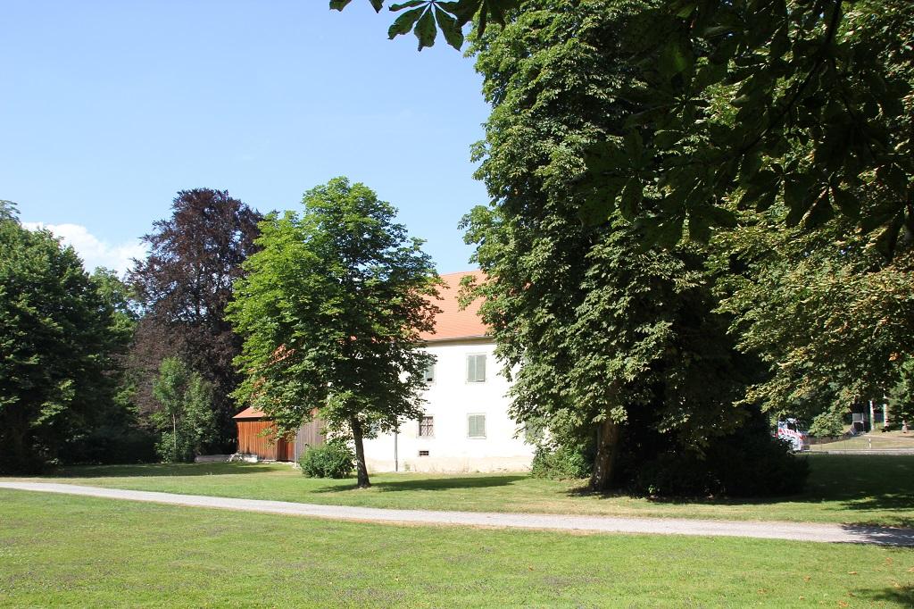 Schlossgebaeude Krauchenwies