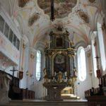 Apsis Hauptaltar Kirche Laupheim