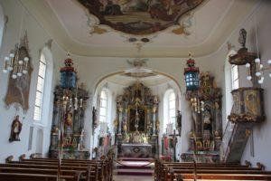 Barocke Altaere St Nikolaus Goeffingen