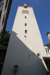 Bock-Turm von Unten