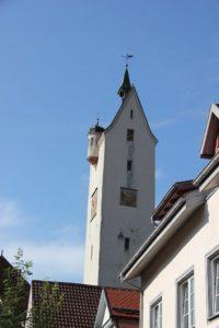 Bockturm Leutkrich barockes Dach