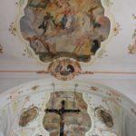 Decken Fresko Kirche Laupheim