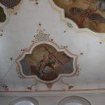 Deckenfresko St Peter Paul Laupheim