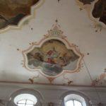 Fresko Decke St Peter Paul Laupheim