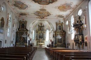 Kirche Laupheim Innen