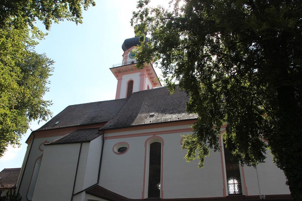 Langhaus Kirche Laupheim