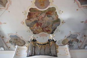 Orgel Kirche Laupheim