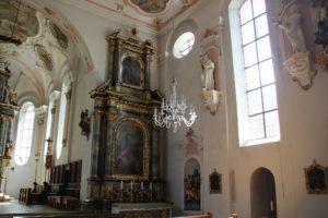 Seitenaltar Chor Kirche Laupheim