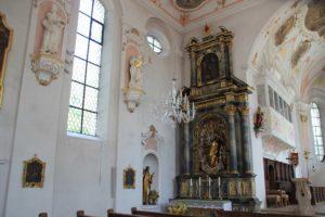 Seitenaltar Links Kirche Laupheim
