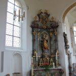 Seitenaltar St Nikolaus Goeffingen