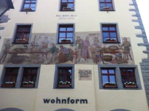 Wandmalereien Hohes Haus Konstanz