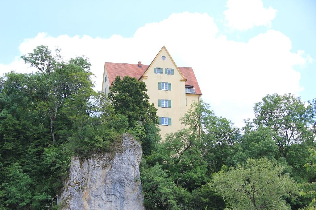 Gutenstein Schloss an der Donau