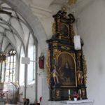 Barocker Altar Kirche OWingen